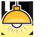 様々な分野において、お客様の思い描いた照明器具の設置を行っております。また、劣化した器具や高天井でのランプ交換も行っております。LED化の発展と共に既存器具からLED照明などの省電力タイプへと移行することにより、コスト削減や環境保護に繋がります。