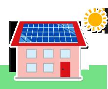 太陽光発電工事は環境に負荷をかけないクリーンエネルギーです。原子力発電が問題になっている現在、太陽光発電は私たちが協力できる一つのテーマではないでしょうか?次の世代にキレイな地球を残していきませんか?